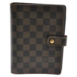 LOUIS VUITTON Ebene Planner Cover Agenda MM